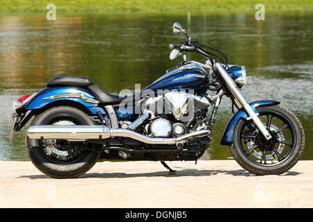 Yamaha XVS 950 A - Stock Photo