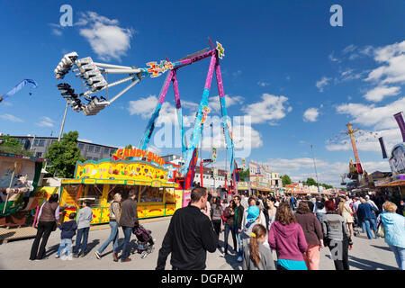Cannstatter Wasen, Stuttgart Beer Festival, spring festival, fairground, Stuttgart, Baden-Wuerttemberg - Stock Photo