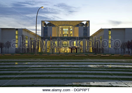 Federal Chancellery, Berlin - Stock Photo