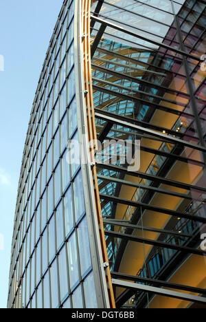 P & C, Peek & Cloppenburg clothes store, modern architecture by Renzo Piano, department store between Schildergasse - Stock Photo