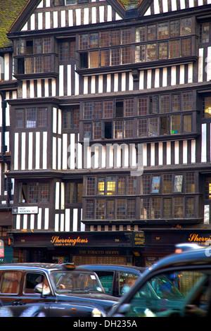 Staple Inn, High Holborn, London, England. - Stock Photo