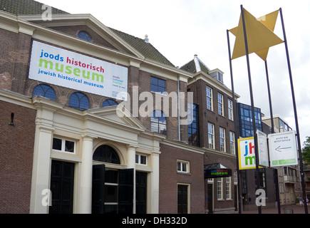 The Jewish Historical Museum, Amsterdam Holland - Stock Photo