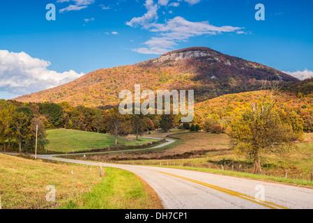 Mt. Yonah in north Georgia, USA. - Stock Photo