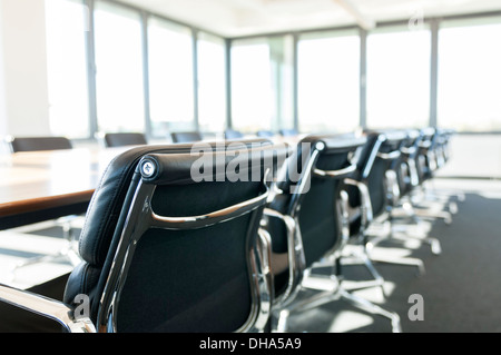 Office Interior Design - Conference Room with Eames Chairs - Stock Photo