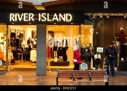 River Island store Northampton - Stock Photo