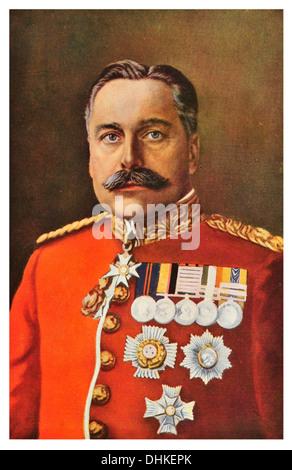 Field Marshal Douglas Haig, 1st Earl Haig of Bemersyde, KT, GCB, OM, GCVO, KCIE, ADC - Stock Photo