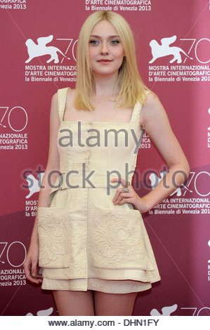 dakota fanning,70th international venice film festival - Stock Photo