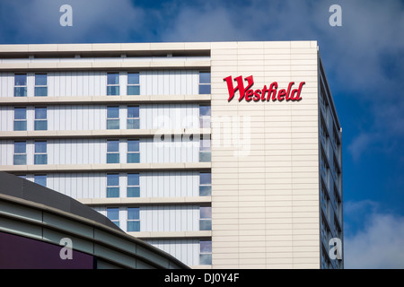 Westfield Shopping Centre Stratford London - Stock Photo