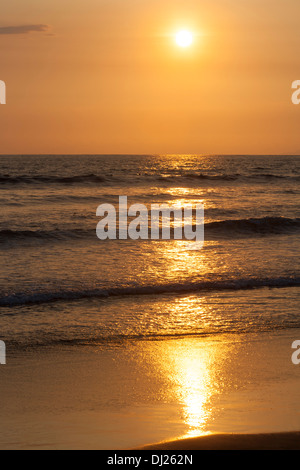 Jaco Beach on the Pacific coast of Costa Rica - Stock Photo