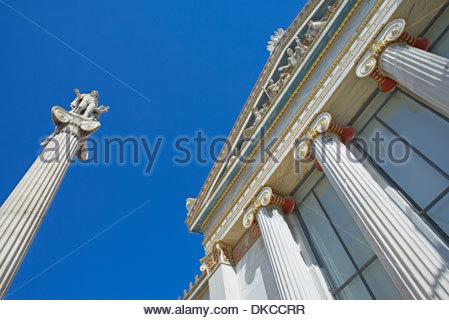 Academy of Athens, Greece, Europe - Stock Photo