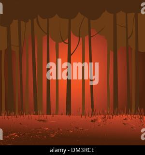 Marsh landscape - Stock Photo