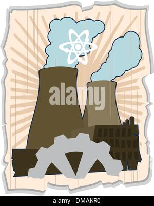 atomic energy - Stock Photo