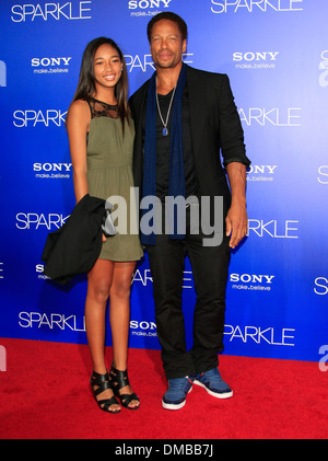 Gary Dourdan Los Angeles Premiere of 'Sparkle' - Inside Arrivals Los Angeles California - 16.08.12 - Stock Photo