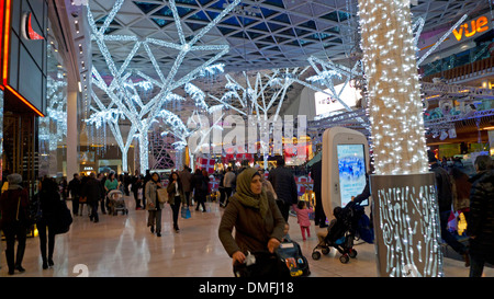 Westfield Shopping Mall in Shepherd's Bush West London England UK  KATHY DEWITT - Stock Photo