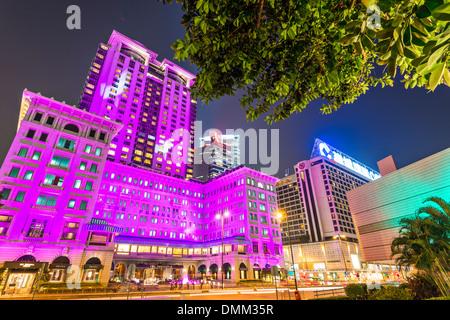 Peninsula Hotel in Hong Kong, China. - Stock Photo
