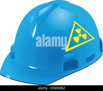 Sign of radiation safety - Stock Photo
