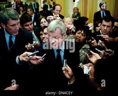 Dec. 18, 2013 - President Barack Obama is expected to appoint Senate Finance Committee Chairman Max Baucus as ambassador - Stock Photo