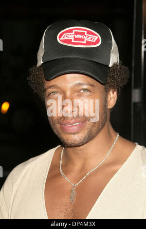 Aug 17, 2006; Los Angeles, CA, USA;  Actor GARY DOURDAN   at the 'Snakes On A Plane' Los Angeles Premiere held at - Stock Photo