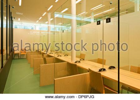 Justizzentrum Korneuburg, Strafanstalt - Stock Photo
