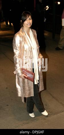 Mar. 13, 2006 - New York, NY, USA - K47194AGM.Gina Gershon..New York Premiere of ''Don't Come Knocking'', hosted - Stock Photo