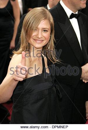 Mar. 7, 2006 - Kodak Theatre, Hollywood, LOS ANGELES, USA - JULIA JENTSCH.78TH ACADEMY AWARDS ARRIVALS KODAK THEATRE, - Stock Photo