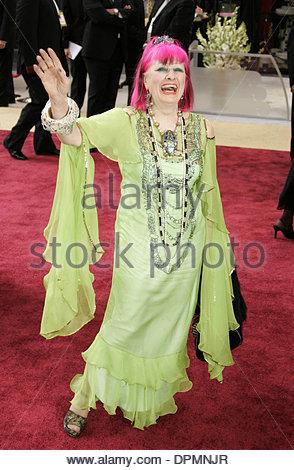 Mar. 7, 2006 - Kodak Theatre, Hollywood, LOS ANGELES, USA - ZANDRA RHODES.78TH ACADEMY AWARDS ARRIVALS KODAK THEATRE, - Stock Photo