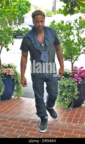 Actor Gary Dourdan seen shopping at Fred Segal on Melrose Avenue Los Angeles, California - 14.06.13 - Stock Photo