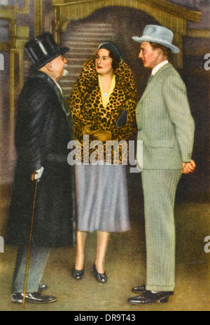 Queen Astrid of Belgium with Leopold III - Stock Photo