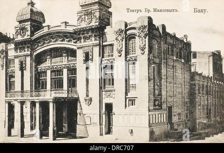 The Opera House at Baku, Azerbaijan - Stock Photo