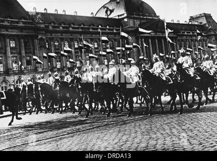 German Cuirassiers WWI - Stock Photo