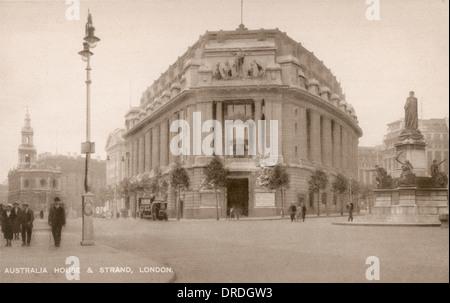 Australia House c. 1920 - Stock Photo