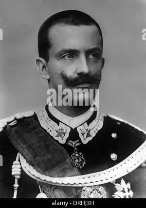 Victor Emmanuel III, King of Italy - Stock Photo