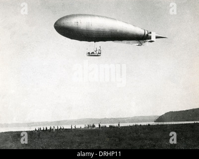 Italian military dirigible or airship - Stock Photo