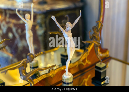 USA,Florida,Sarasota, The John and Mable Ringling Museum of Art, Ca'Dzan mansion, art deco perfume stopper - Stock Photo