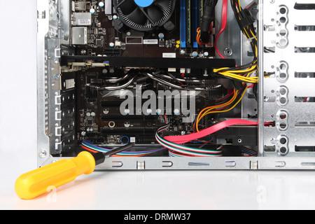 compute repair - Stock Photo