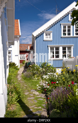 Gullholmen in Schweden - Stock Photo
