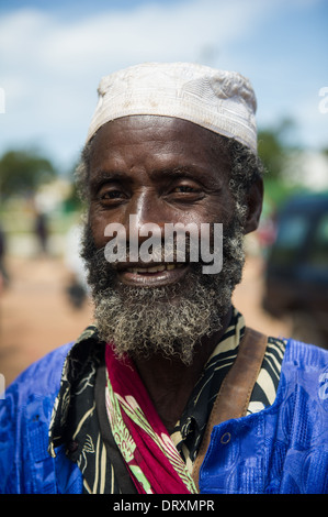 Old Muslim man, Banjul, the Gambia - Stock Photo