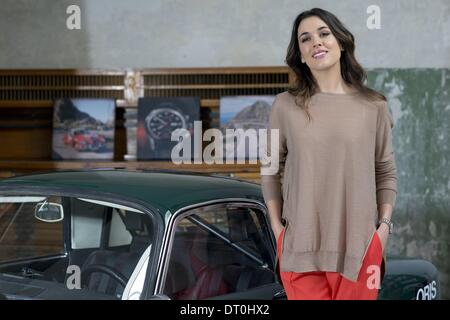 Madrid, Spain. 5th Feb, 2014. Actress Adriana Ugarte attends this morning to an act of signature watches ''Oris'' - Stock Photo