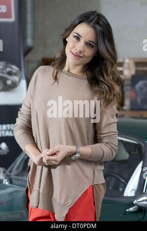 Madrid, Spain. 5th Feb, 2014. Actress ADRIANA UGARTE promotes signature watches Oris in Madrid. © Oscar Gonzalez/NurPhoto/ZUMAPRESS.com/Alamy - Stock Photo