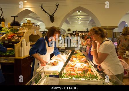 Dallmayr food store in Munich in Bavaria, Germany - Stock Photo