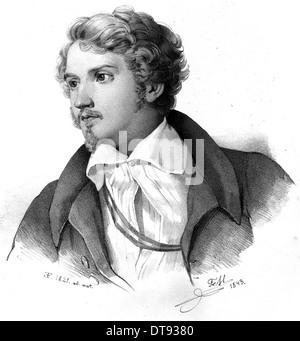 JUSTUS von LIEBIG (1803-1873) German chemist - Stock Photo
