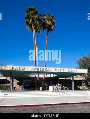 Palm Springs City Hall - Stock Photo