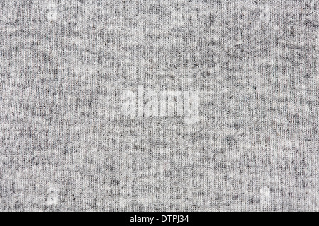 High resolution close up of gray cotton fabric with seams crossing. - Stock Photo