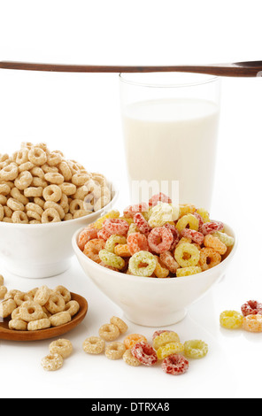 breakfast cereals - Stock Photo