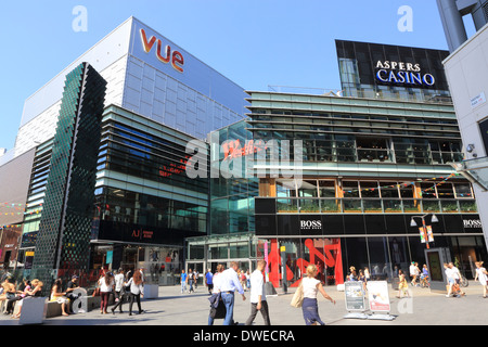Westfield shopping centre in Stratford, East London E20, England, UK - Stock Photo