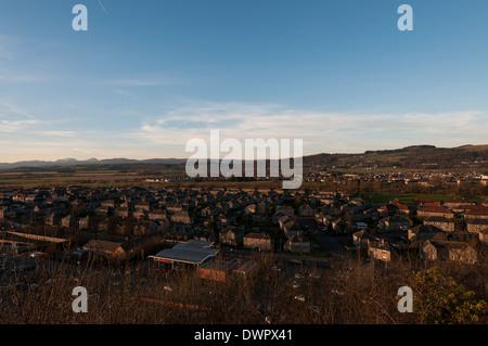 Raploch town near Stirling - Stock Photo
