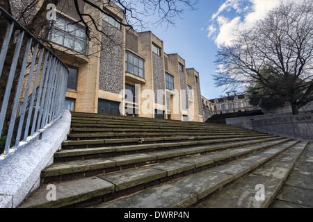 The Winchester Combined Court Centre in Winchester, Hampshire, England - Stock Photo