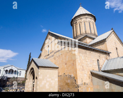 The Sioni Cathedral in Tbilisi, Georgia. - Stock Photo