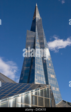 Modern office building in Escaldes-Engordany, Andorra. - Stock Photo