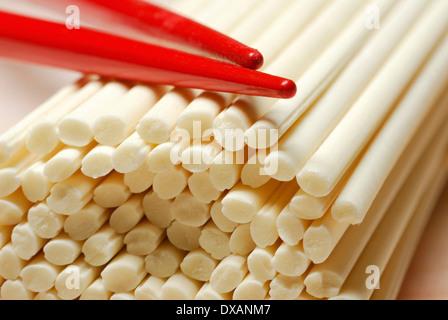 Udon noodles - Stock Photo